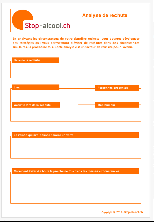 Plan d'urgence à imprimer