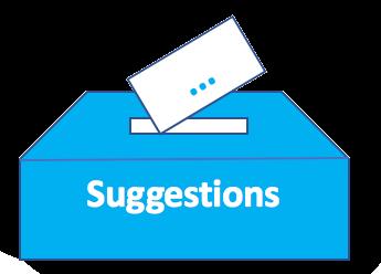Vos suggestions pour le site